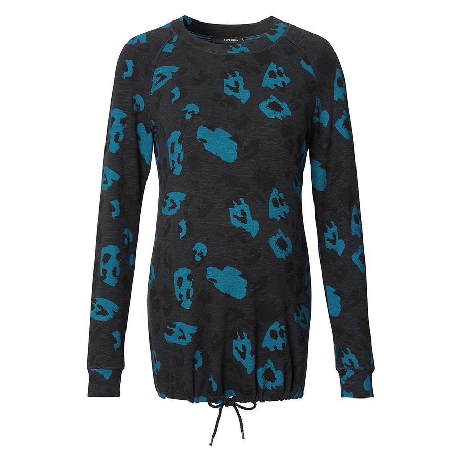 SUPERMOM Bluza bluza Leopard Blue