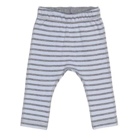 name it Spodnie potowe Uxogu melange w kolorze szarym (melange)