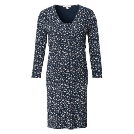 ESPRIT Těhotenské šaty s dlouhým rukávem Night Blue
