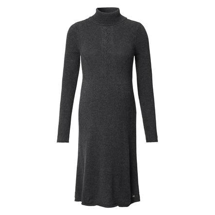 ESPRIT Sukienka ciążowa z długim rękawem asfalt szary Melange