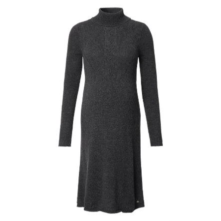 ESPRIT Vestido de maternidad manga larga asfalto Gris Melange