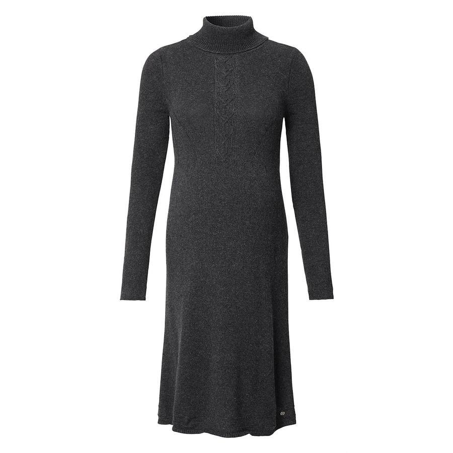ESPRIT Robe de maternité manches longues en asphalte Gris Mélange