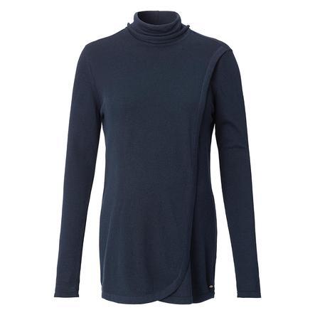 ESPRIT Obwód Sweter długi rękaw nocny Niebieski