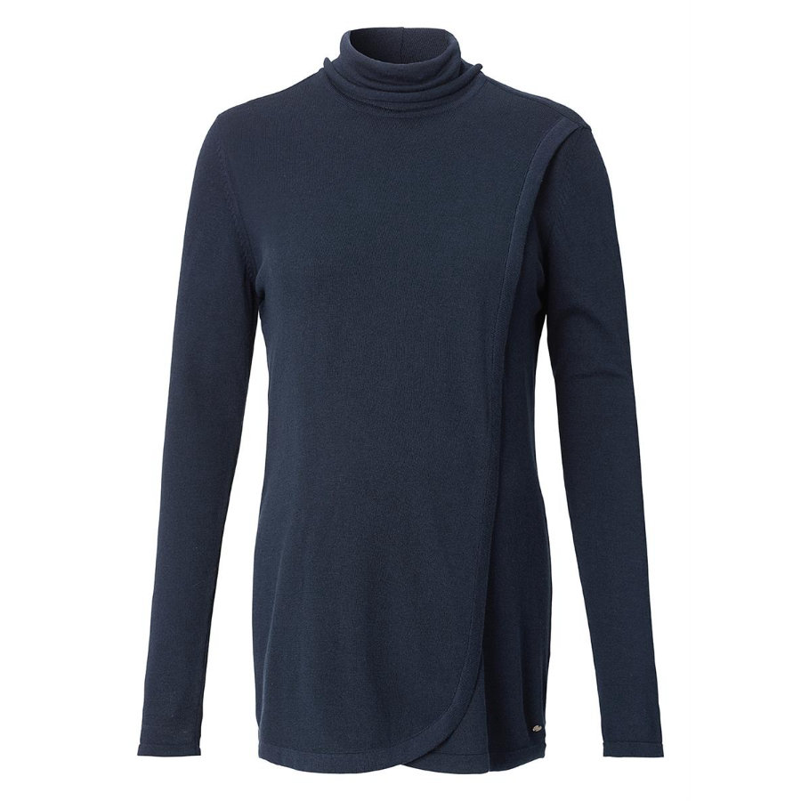 ESPRIT Circumstance tröja lång Nattärm Blå