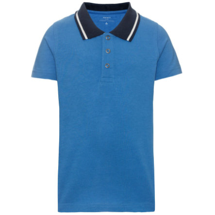 name it Boys Poloshirt campanula