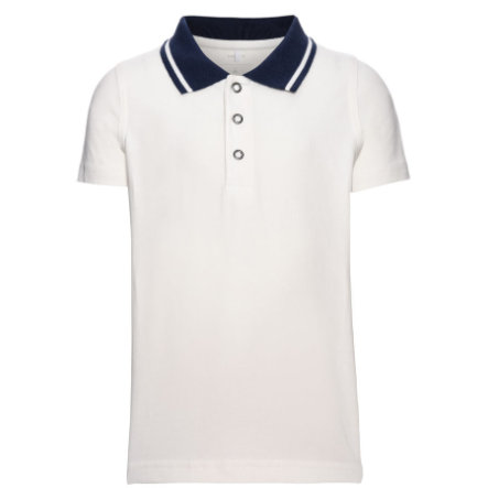 name it Boys Poloshirt snow white
