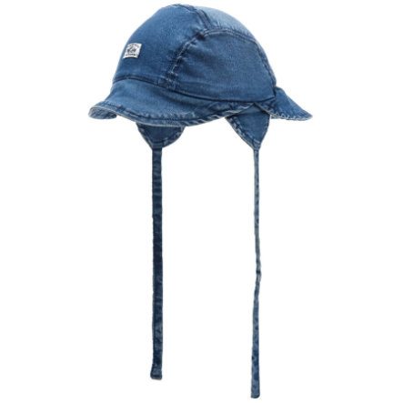 name it Casquette Abern en denim bleu moyen