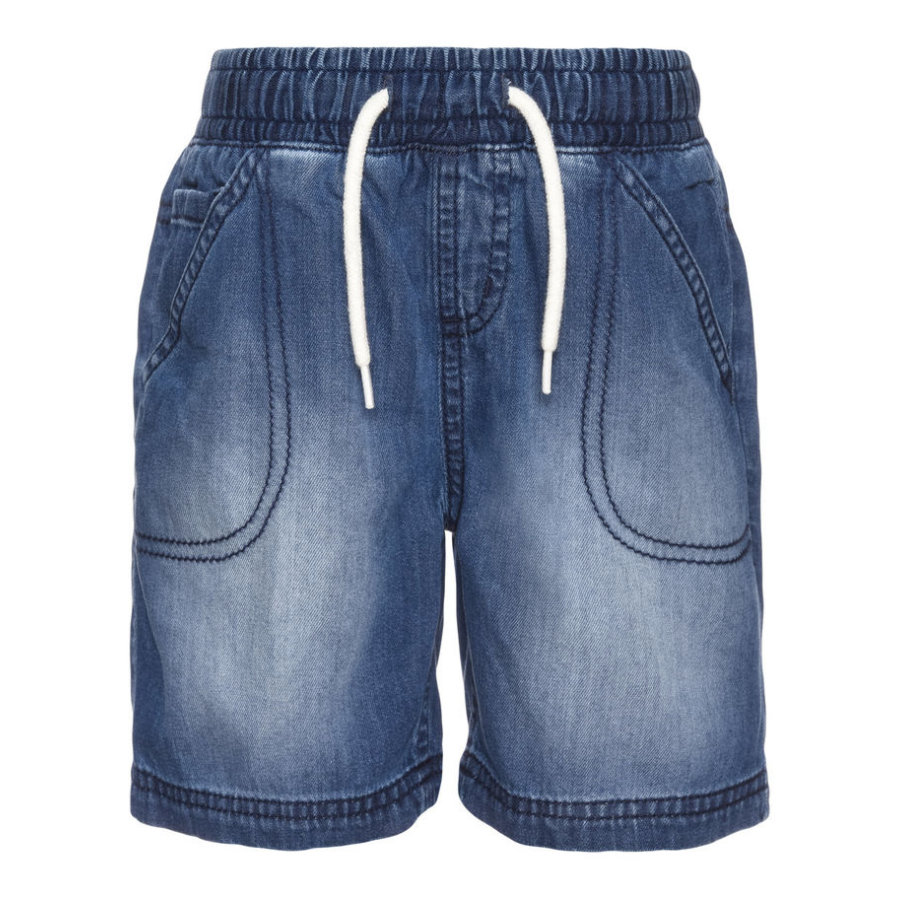 name it Boys Shorts medium blue denim