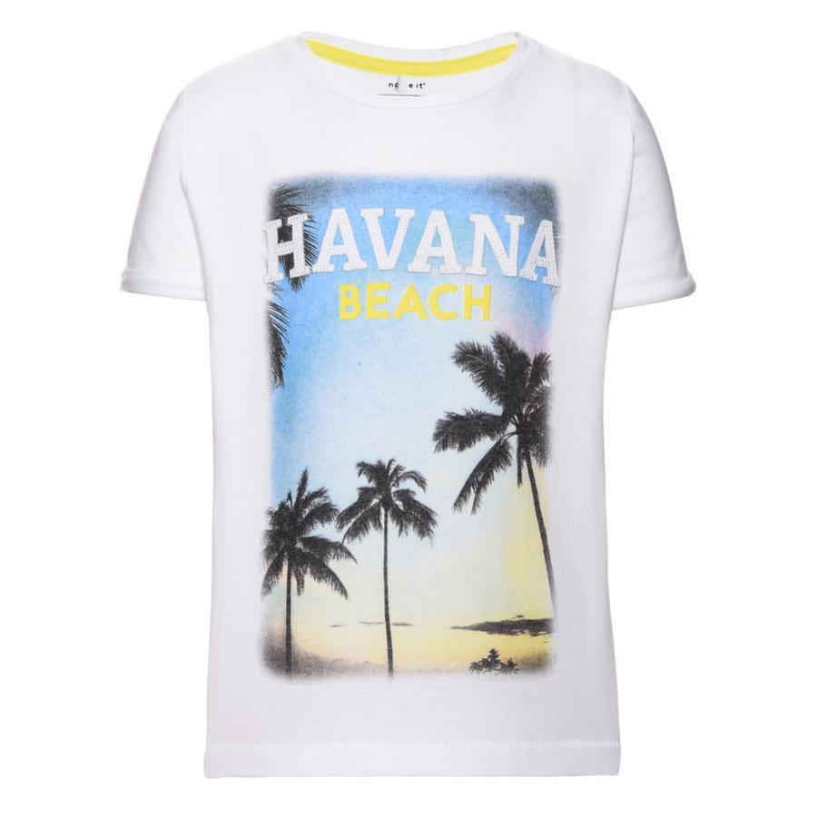 name it Boys T-Shirt Ditlev bright white