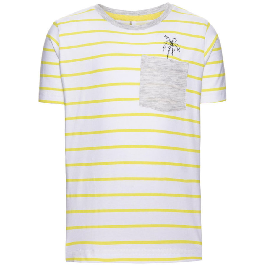 name it Boys T-Shirt Denzel bright white