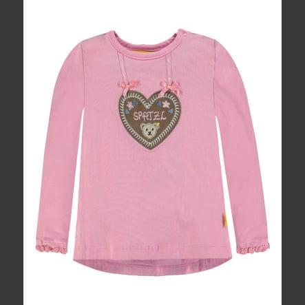 Steiff Girl s Shirt met lange mouwen, roze