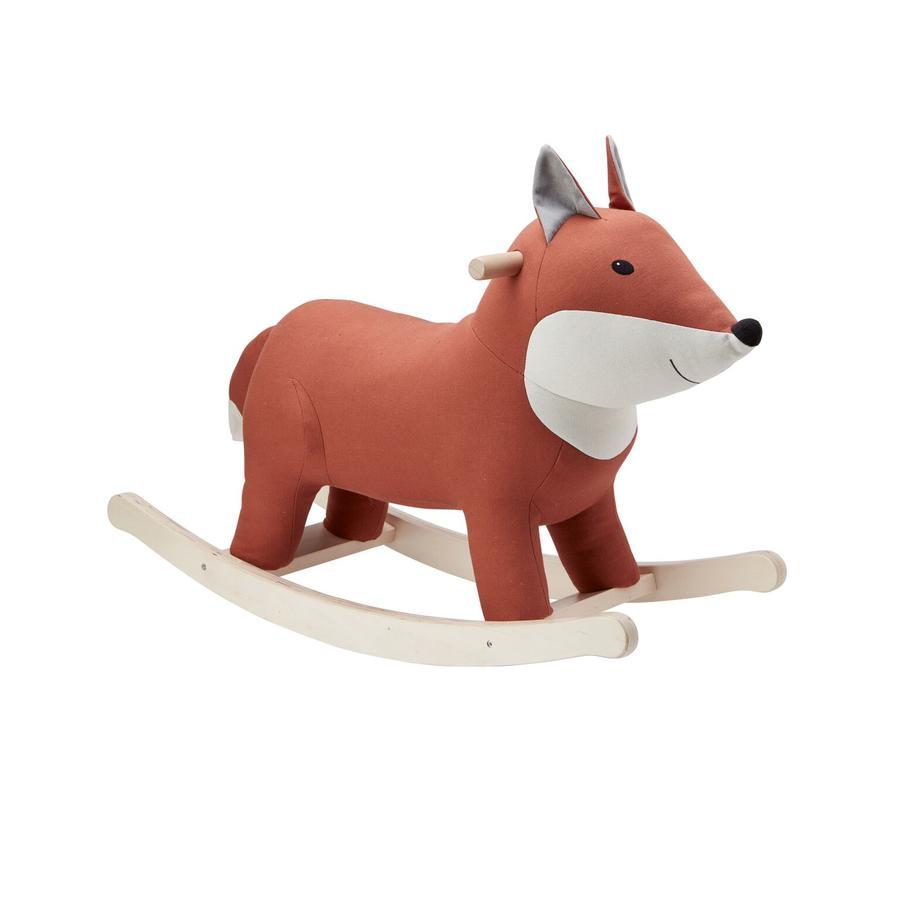 Kids Concept® Animal à bascule renard, brun