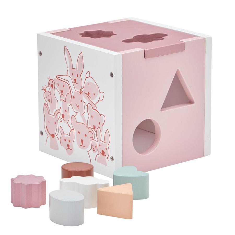 KIDS CONCEPT Vormenspel roze, Edvin