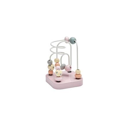 Kids Concept® Kuličková dráha Edvin růžová