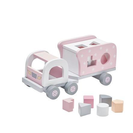 KIDS CONCEPT Camion à enficher Étoile, rose