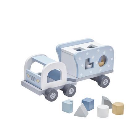 Kids Concept® Steckspiel Laster Star blau