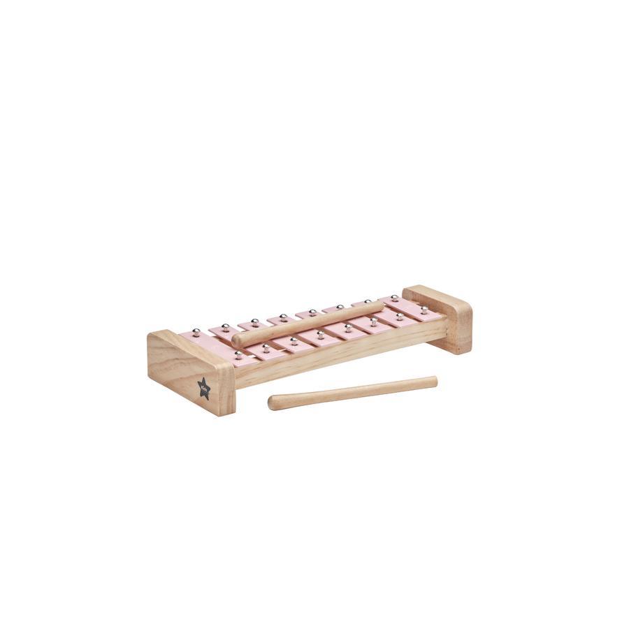 KIDS CONCEPT Xylofon, růžový