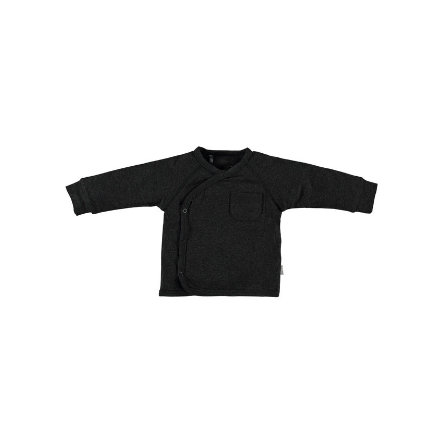 b.e.s.s Langarmshirt Turn-Over Anthracite