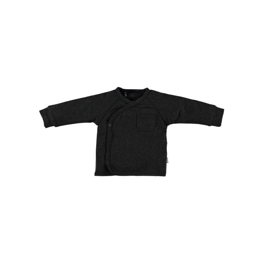 b.e.s.s Koszulka z długim rękawem Turn-Over Anthracite