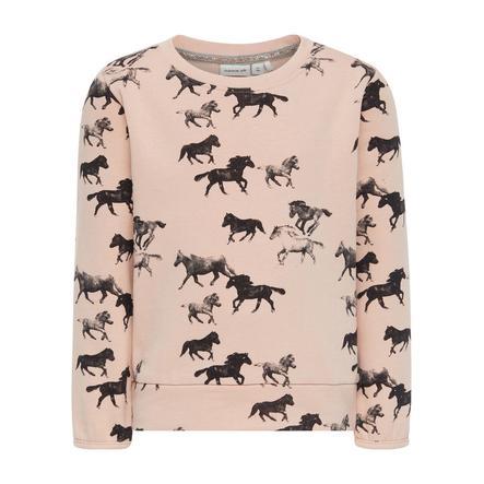 name it Girl Sweatshirt Ditan wieczorny piasek Ditana