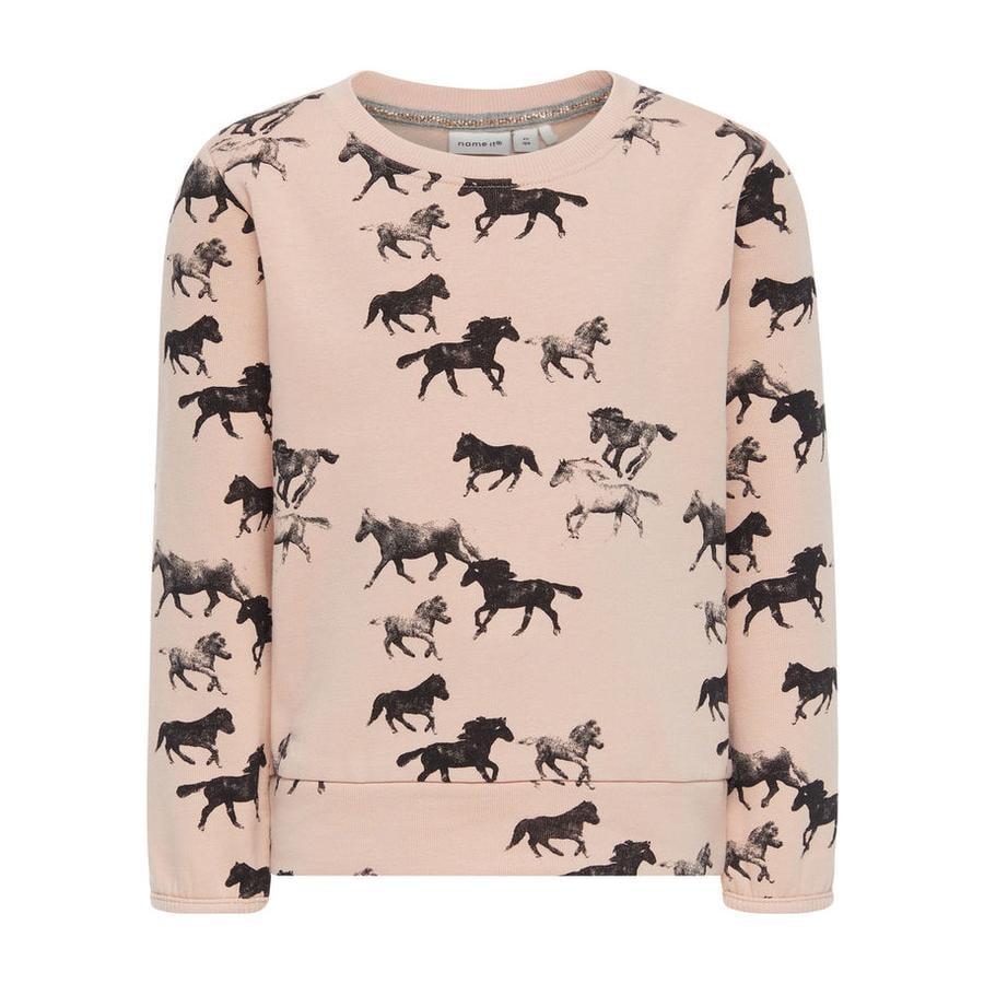name it Girl s Sweatshirt Ditan Soirée sable