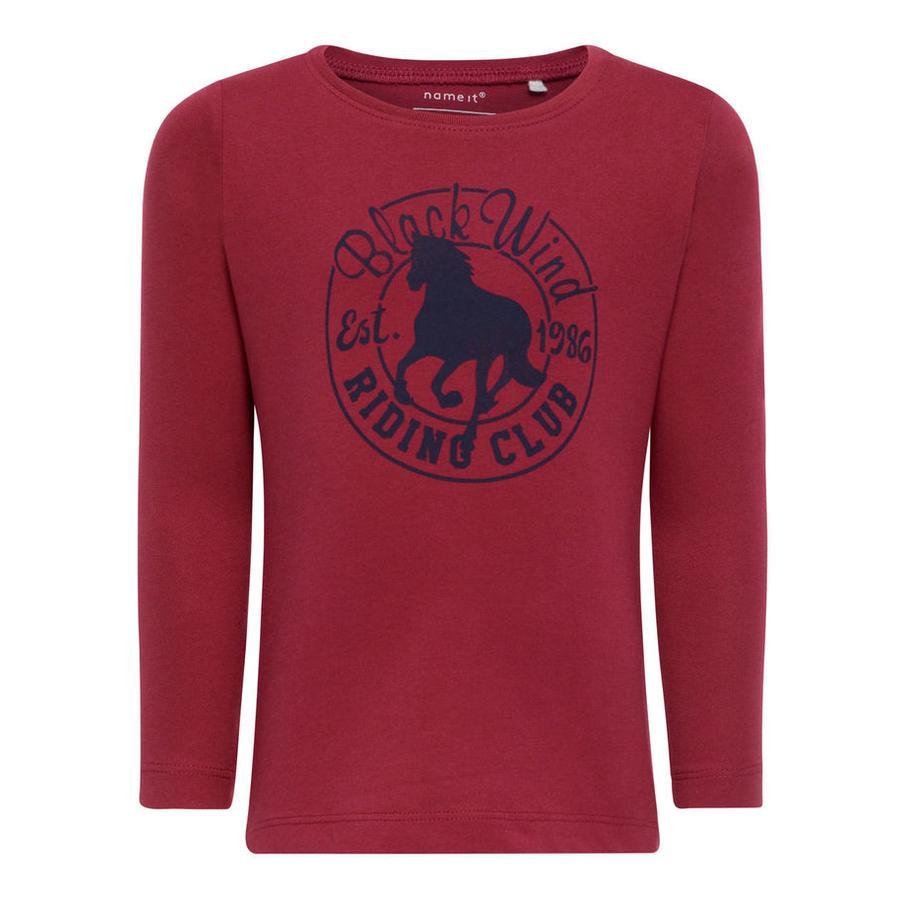 name it Girl s Sweat-shirt Veen anémone de Veen