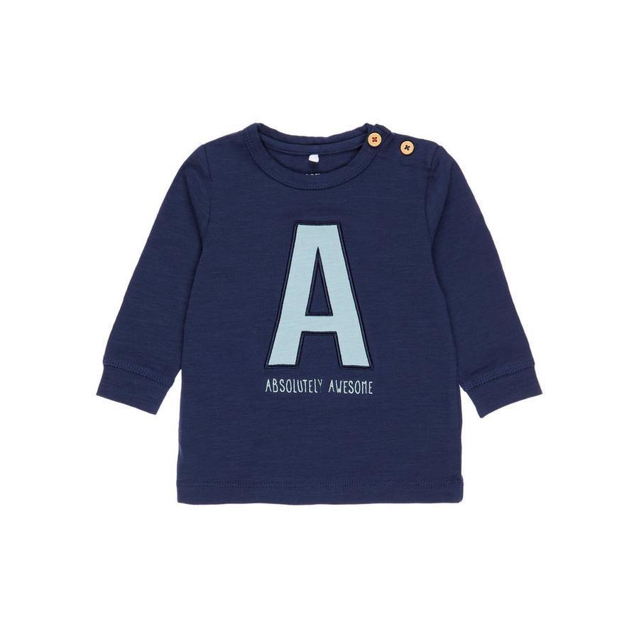 name it Boys Shirt met lange mouwen Etbirk jurkje blauw