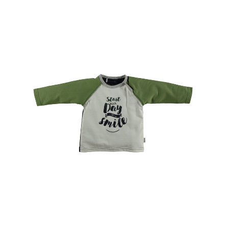 b.e.s.s Langarmshirt Starts Each Day Olive