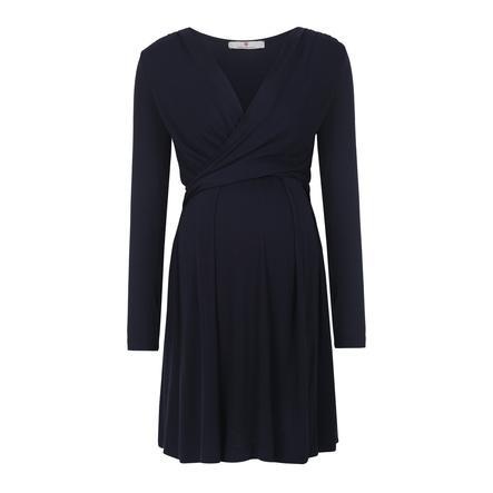 bellybutton těhotenské stylové šaty ALINA, modré, 2018