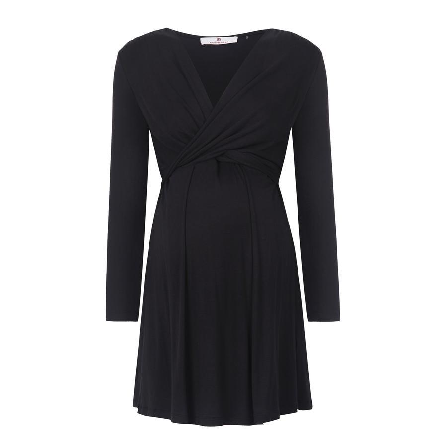 bellybutton těhotenské stylové šaty ALINA, černé