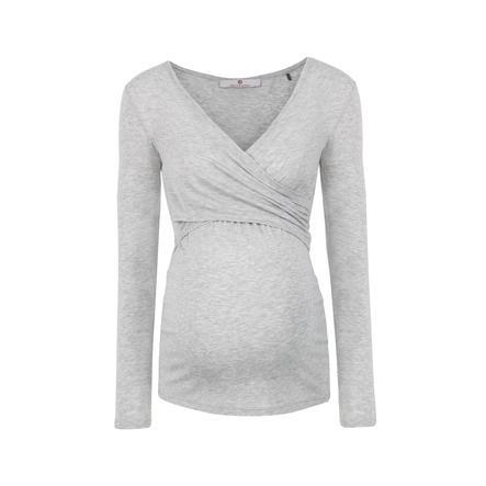 bellybutton Maglia da allattamento a manica lunga LAILA, light grey
