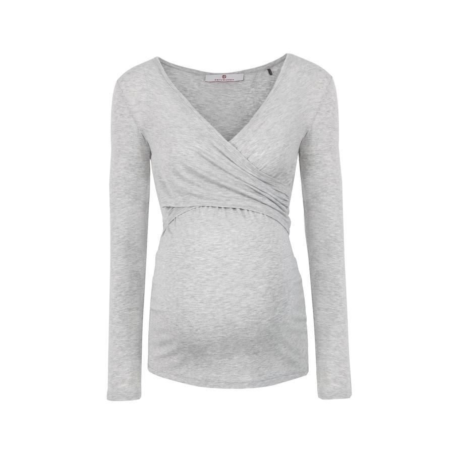 bellybutton T-shirt d'allaitement manches longues Laila, gris