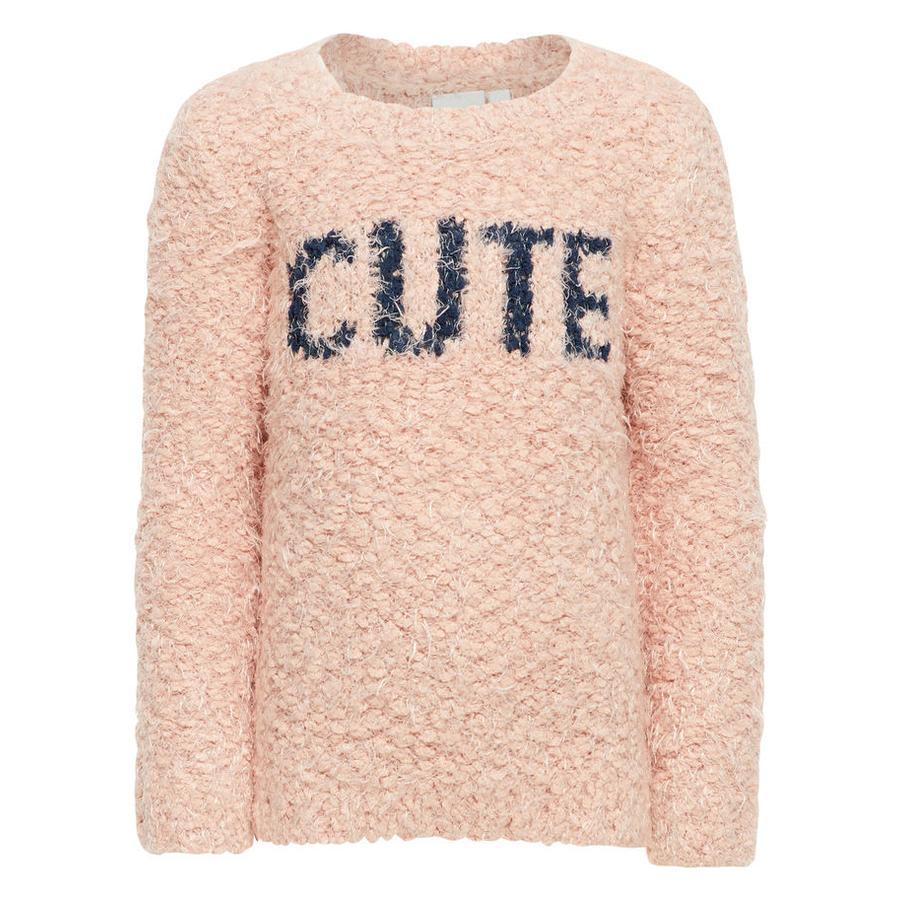 NAME IT tyttöjen Pullover Nisilla -hiekka