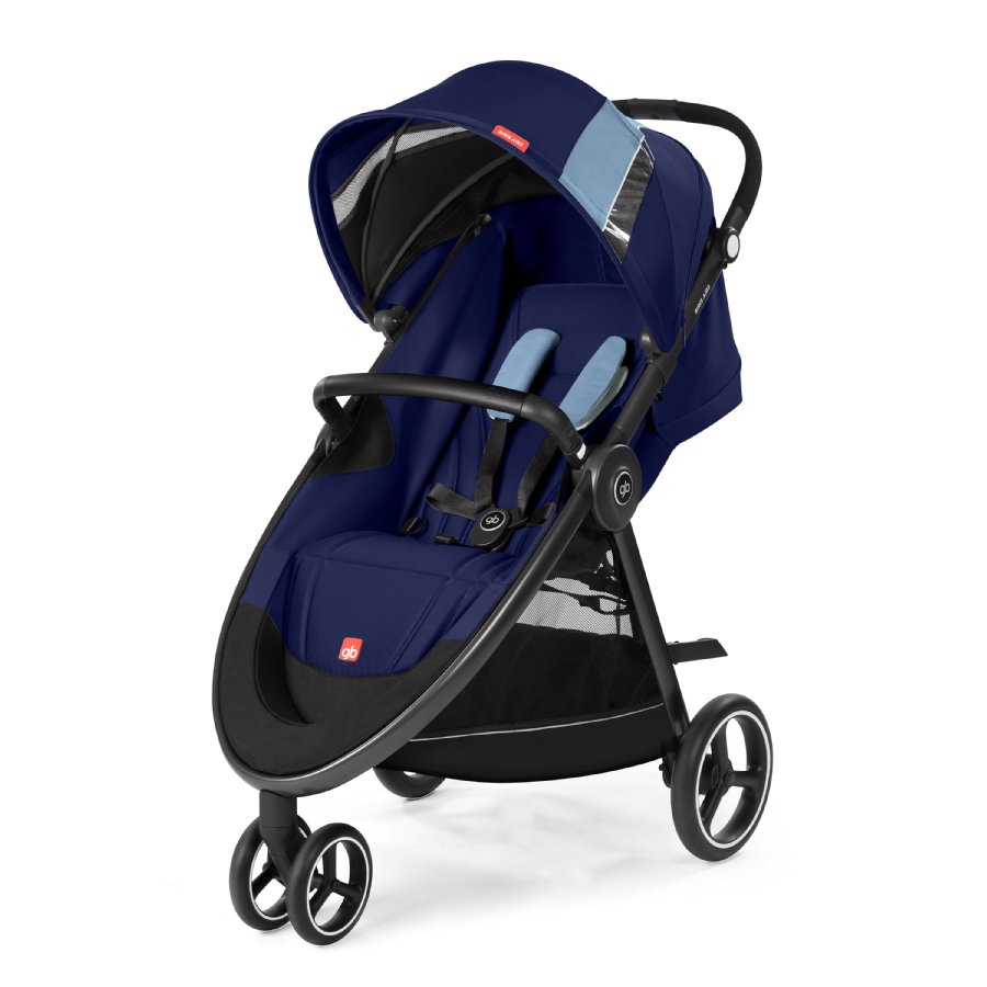 gb GOLD Passeggino leggero Biris Air3 Sapphire Blue-navy blue