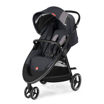gb GOLD Kinderwagen Biris Air3 Silver Fox Grey-mid grey