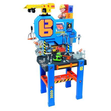 Smoby Banco de herramientas Bob el Constructor con grúa