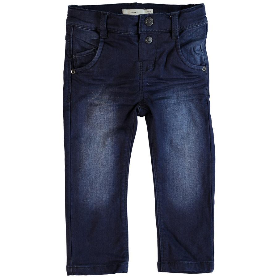 name it Boys Jeans Bandy denim azul oscuro