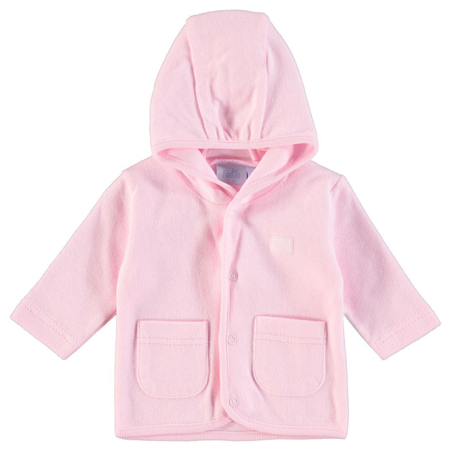 Feetje Veste enfant à capuche rose