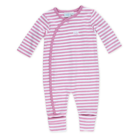 Feetje Combi bébé rayures mélange rose
