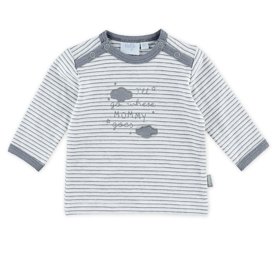Feetje Camisa de manga larga con rayas Mommy Dreamer blanco