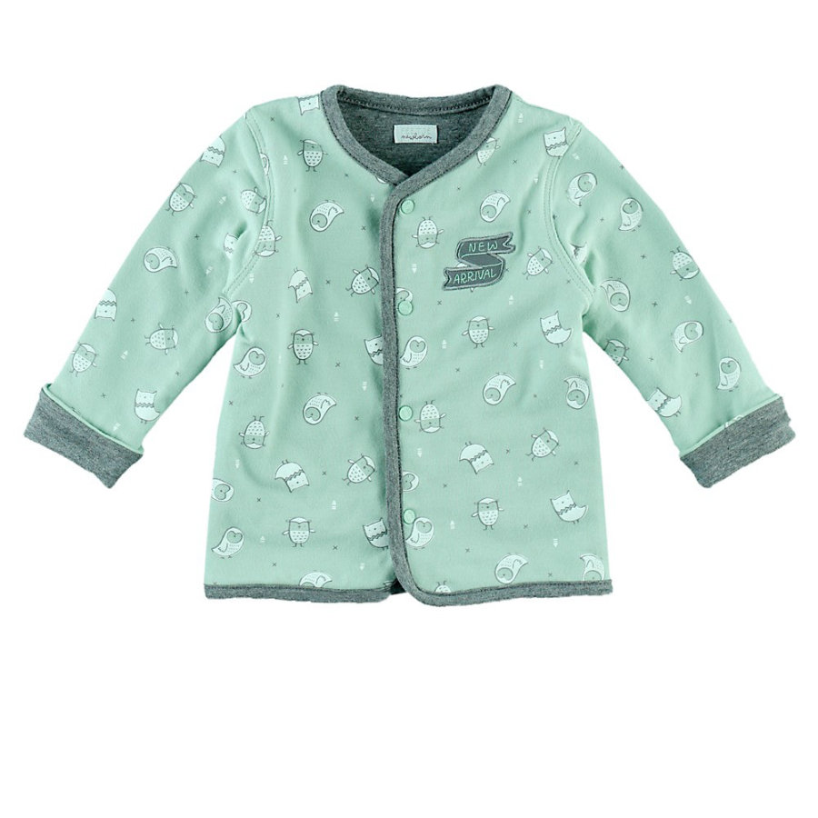 Feetje Wendejacke Owl I Love you mint