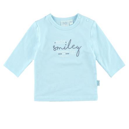 Feetje Chemise manches longues Smiley Little Me bleu