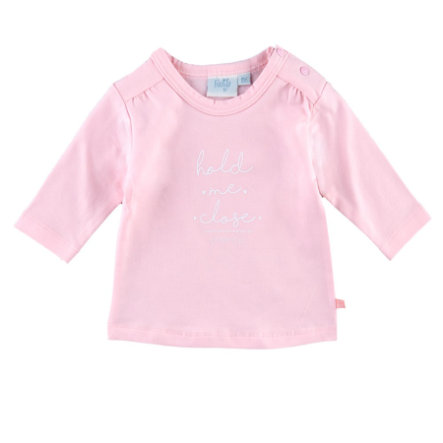 Feetje Girls Langarmshirt Hold me close Sweetie rosa