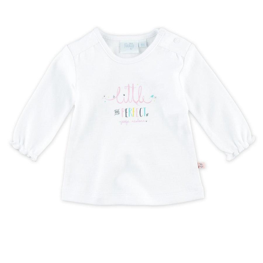 Feetje Langarmshirt Little Perfect Littel weiß