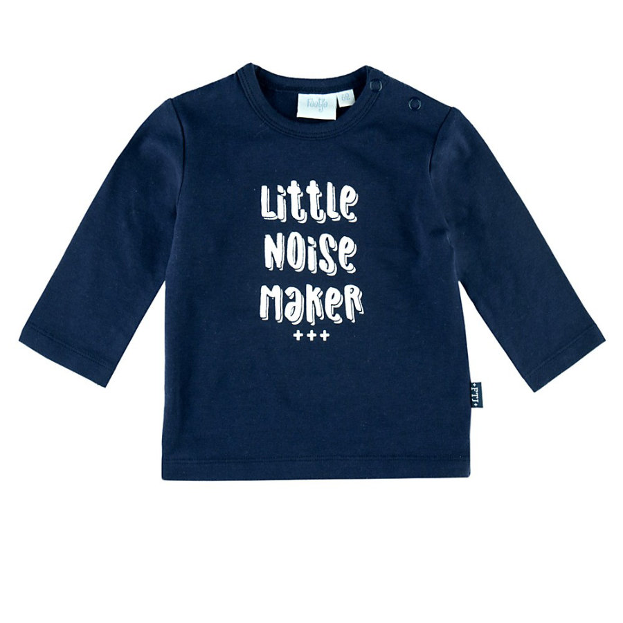 Feetje Chemise manches longues Little noise maker Perfect Marine