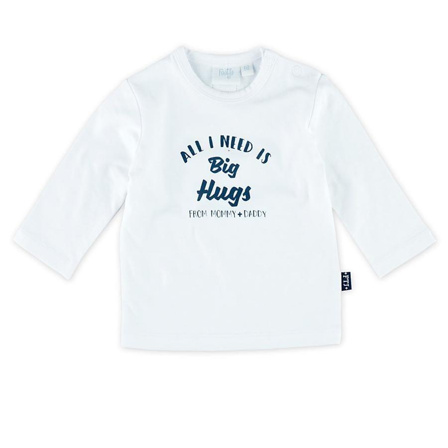 Feetje Shirt met lange mouwen Little noise maker Perfect wit