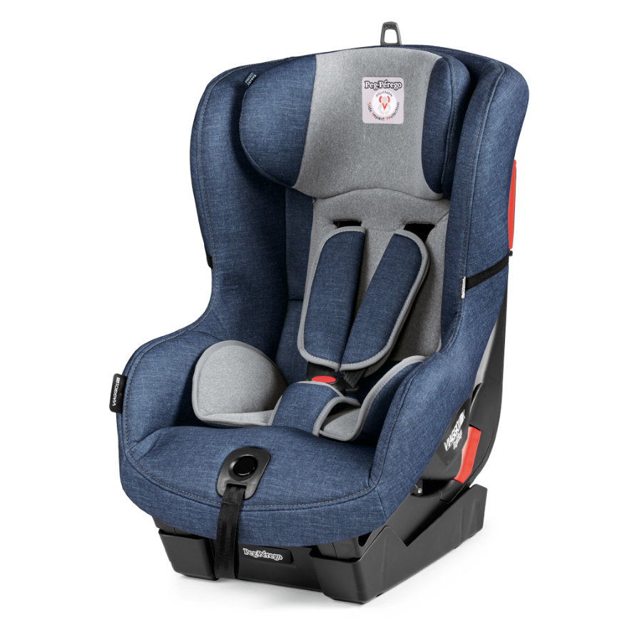 Peg Prego Child Seat Viaggio 1 Duo Fix K Urban Denim