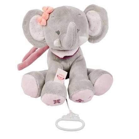 Nattou Adele & Valentine - Peluche musical Elefante