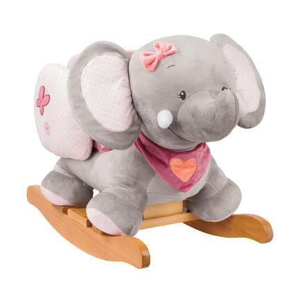 Nattou Dondolo Elefante.Nattou Adele Valentine Elefante A Dondolo