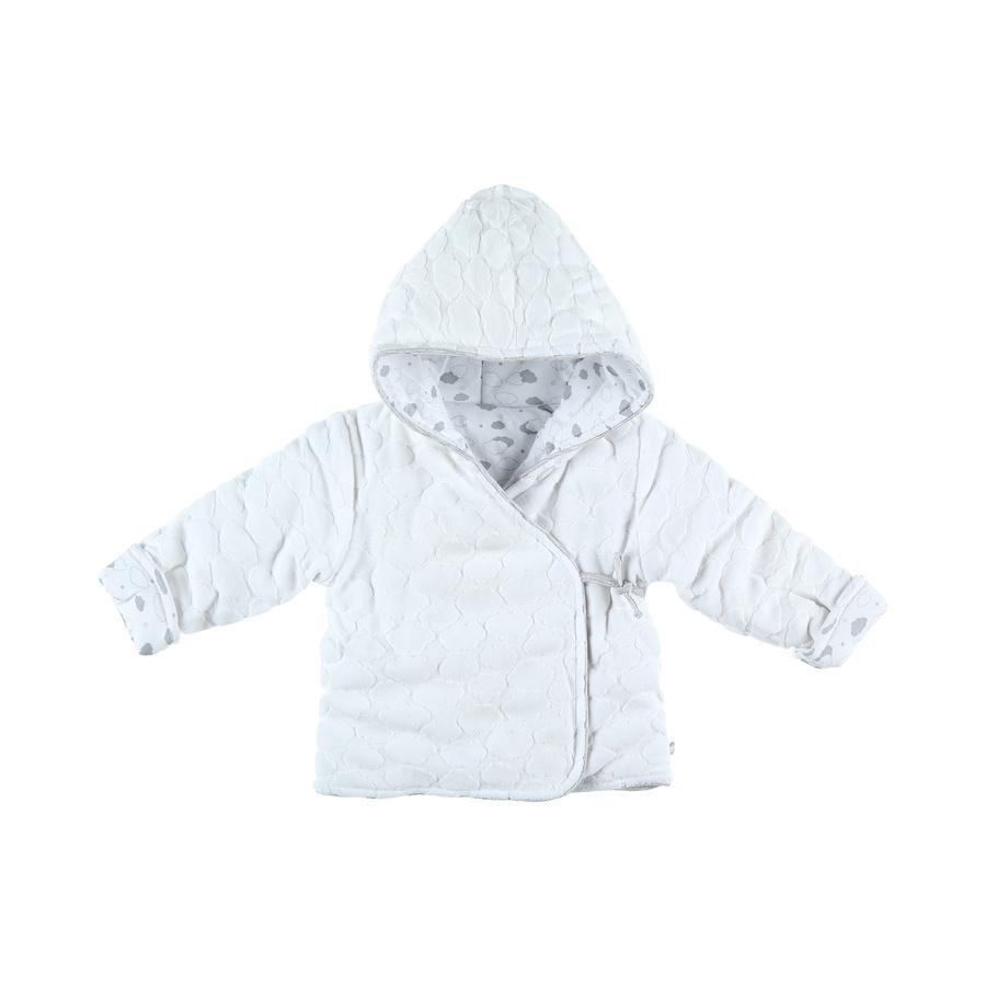 kurtka noukie's sweat jacket biały szary